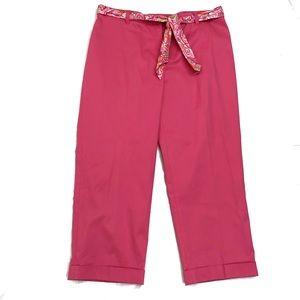 Jones New York signature cropped pants